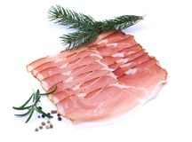 Cured ham Royalty Free Stock Images