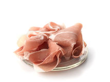 Cured Ham (Italian Prosciutto di Parma) Stock Photography