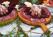 Cured meats Stock Photos