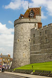 Curfew tower at Windsor castle on a sunny day Stock Image