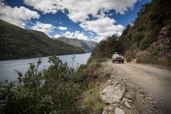 CurhuA©湖 免版税图库摄影