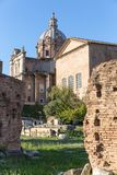 Curie antique Julia sur Roman Forum, Rome, Italie, l'Europe image stock