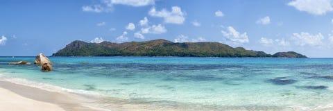 Curieuse海岛在塞舌尔群岛群岛 免版税库存照片