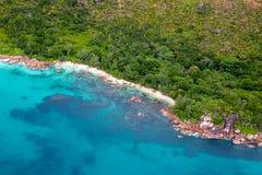 Curieuse, Сейшельские островы стоковое фото rf