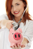 Curing finances concept Stock Image