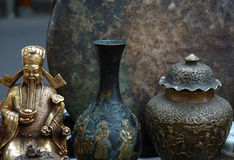 Curio. Ancient curio in Sichuan,west of China Stock Photo
