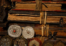 Curio. Close up of  Tibet curio  in China Royalty Free Stock Photo