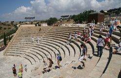 Curion amphitheatre. Cyprus Stock Photography