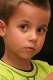 Curios child stock photo
