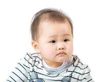 Curiosidad de la sensación del bebé Imágenes de archivo libres de regalías