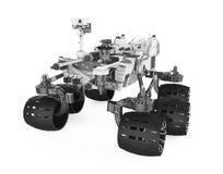 Curiosité Rover Isolated illustration de vecteur