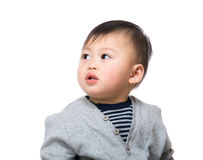 Curiosity baby Royalty Free Stock Images
