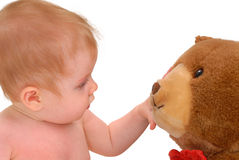 Curious Baby Stock Image