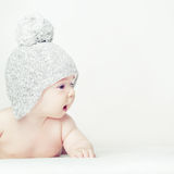 Curious baby - cognize the world Stock Image