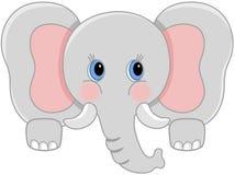 Free Curious Baby Elephant Peeking Royalty Free Stock Photography - 83178947