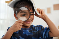 Curious child royalty free stock photo