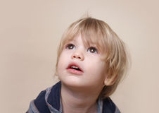 Curious Child Royalty Free Stock Photography