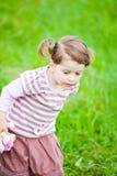 Curious girl royalty free stock photos