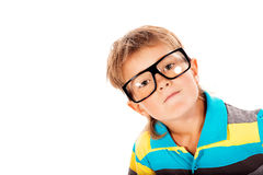Curious kid Royalty Free Stock Image