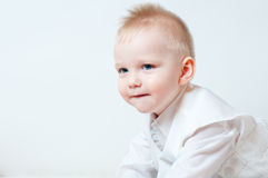 Curious little boy Royalty Free Stock Photography