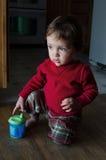 Curious little boy Stock Photos