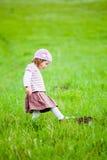 Curious little girl royalty free stock photos