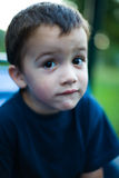 Curious looking child Royalty Free Stock Photos