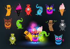 Curious Monster Collection. Strange and beautiful Stock Photos