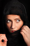 Curious muslim girl Royalty Free Stock Photography