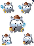 Curious Owl Stock Images