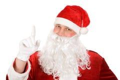 Curious Santa Royalty Free Stock Photography