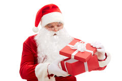 Curious Santa Stock Photography