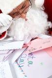 Curious Santa Royalty Free Stock Image