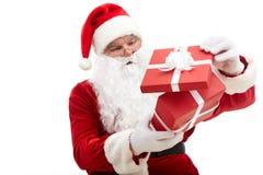 Curious Santa Stock Image