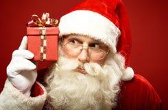 Curious Santa Stock Images