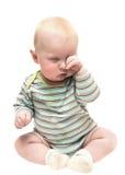 Curious toddler Stock Image