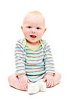 Curious toddler Stock Images