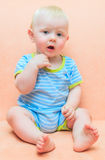 Curious toddler Royalty Free Stock Images