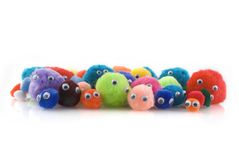 Curiousity. A colorful crowd of many different people Royalty Free Stock Photo