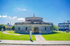 CURITIBA, БРАЗИЛИЯ - 12-ОЕ МАЯ 2016: театр paiol культурные место и аудитория для музыкальных событий стоковые фотографии rf