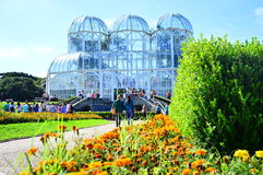 Curitiba Botanic Garden stock image