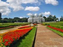 Curitiba botanical gardens Royalty Free Stock Photo