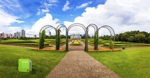 Curitiba botanisk trädgård Arkivfoton