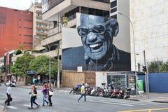 Curitiba gata Royaltyfria Foton