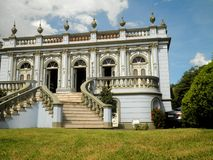 Curitiba Historical Building Royalty Free Stock Image