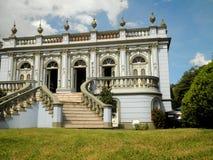 Curitiba historisk byggnad Royaltyfri Bild