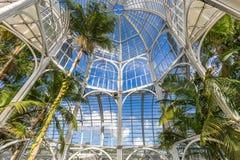 CURITIBA, PARANA/BRAZIL - 26 DE DEZEMBRO DE 2016: Jardim botânico em um dia ensolarado Fotografia de Stock