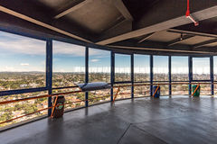 CURITIBA, PARANA/BRAZIL - 27 DE DEZEMBRO DE 2016: Vista da torre panorâmico do ` s de Curitiba Foto de Stock