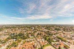 CURITIBA, PARANA/BRAZIL - 27 DE DICIEMBRE DE 2016: Visión desde la torre panorámica del ` s de Curitiba Fotografía de archivo