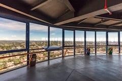 CURITIBA, PARANA/BRAZIL - 27 DE DICIEMBRE DE 2016: Visión desde la torre panorámica del ` s de Curitiba Foto de archivo